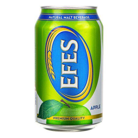 دلستر قوطی EFES سیب بهنوش