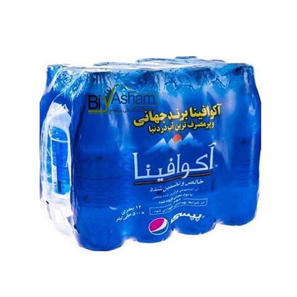 بسته آب معدنی 1/5 لیتری آکوافینا