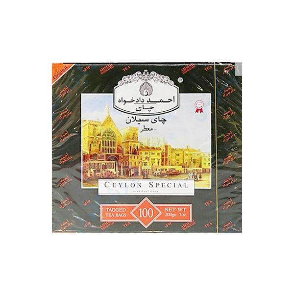 چای عطری 100گ احمد دادخواه