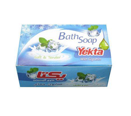 یکتا صابون حمام آبی 100 گ 5عددی