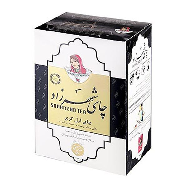 شهرزاد چای مشکی 400گ