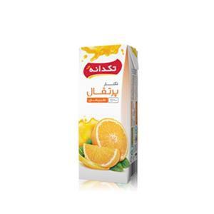 آبمیوه پرتقال 200 سی سی تتراپک تکدانه