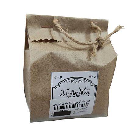 چای 150 گرمی بسته بندی خارجی