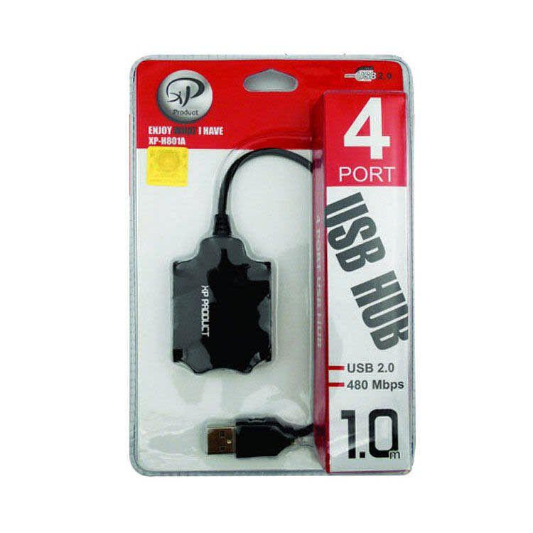 هاب USB HUB XP-H801C