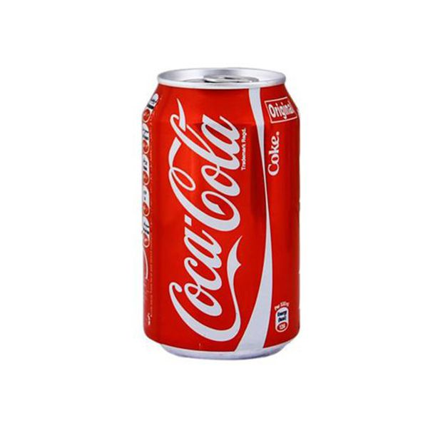نوشابه سیاه قوطی اصل کوکاکولا