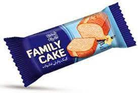 کیک وانیلی خانواده نادری