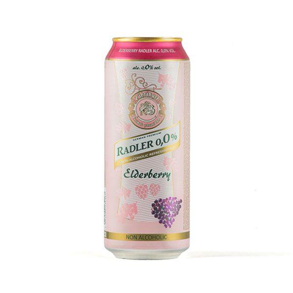 آبجو قوطی 500 میل انگور قرمز Radler