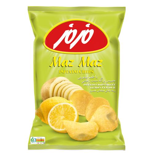 چیپس لیمویی متوسط مزمز