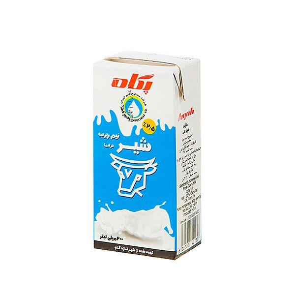 شیر استریل 200 سی سی پگاه