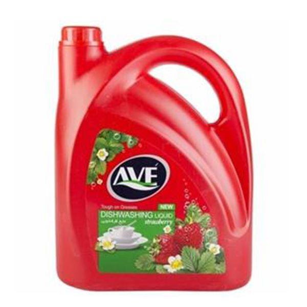 مایع ظرفشویی سری جدید 3750 گرم قرمز اوه