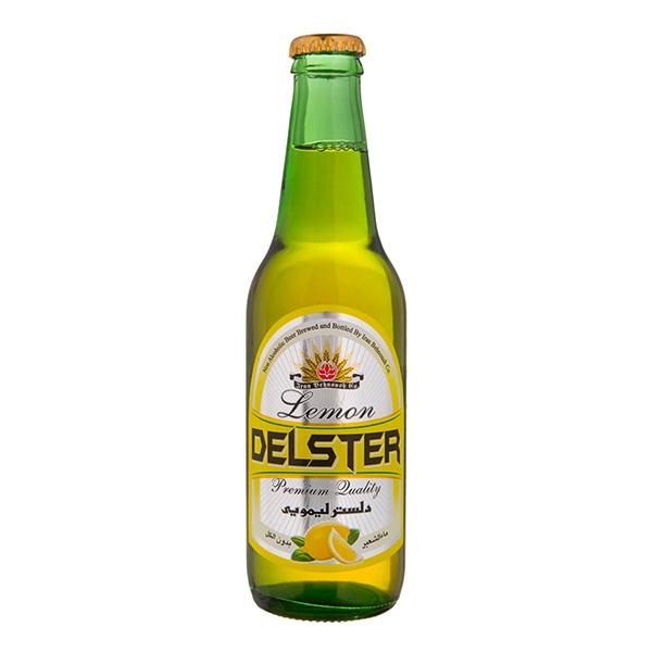 دلستر لیمویی شیشه 330 سی سی بطری بهنوش