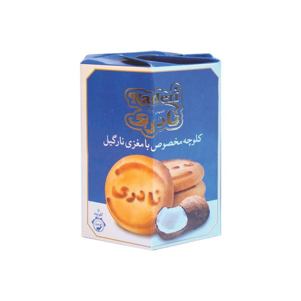 کلوچه مخصوص نارگیلی بسته 3 تایی (300 گرمی) نادری