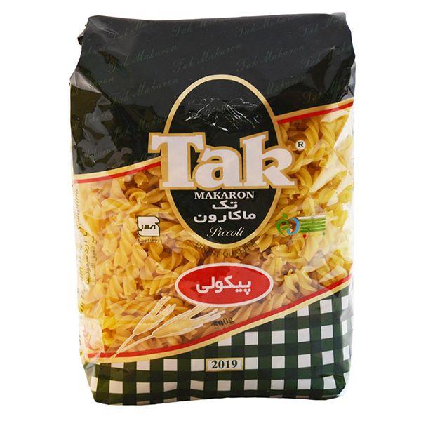 اسپاگتی پیکولی پیچی ریز 500 گرمی تک ماکارون