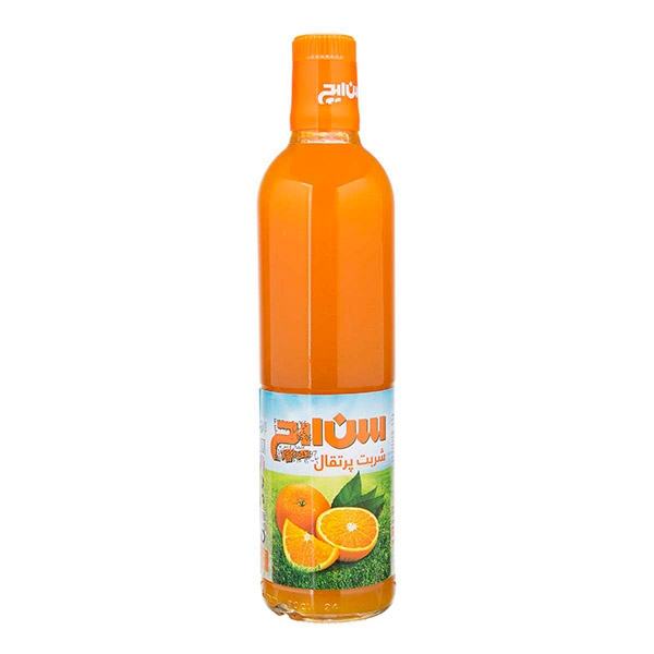 شربت پرتغال 780 گرمی بطری سن ایچ