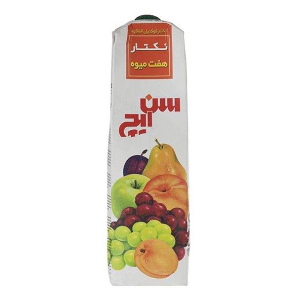 آبمیوه لیتری هفت میوه سن ایچ