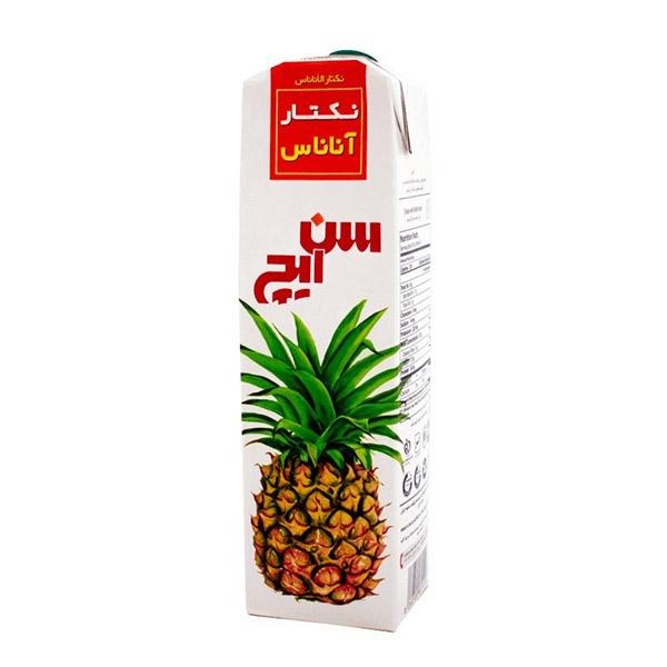 آبمیوه یک لیتری آناناس سن ایچ