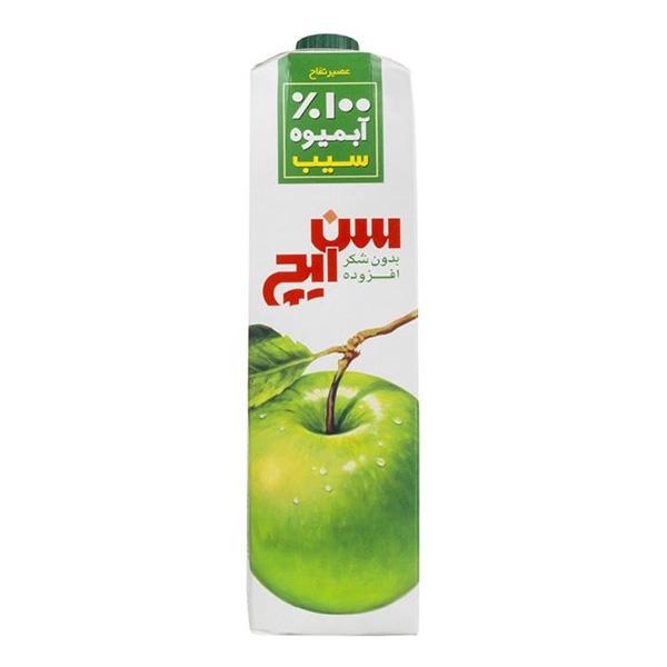آبمیوه یک لیتری سیب سن ایچ