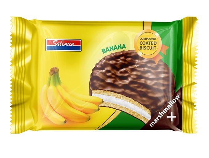 والس شکلاتی موزی 20 گرمی سالمین