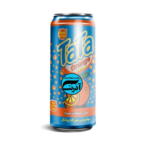 نوشیدنی پرتقال 250cc قوطی تاتائو