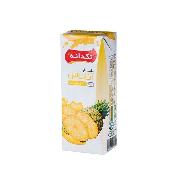 آبمیوه آناناس 200 سی سی تتراپک تکدانه