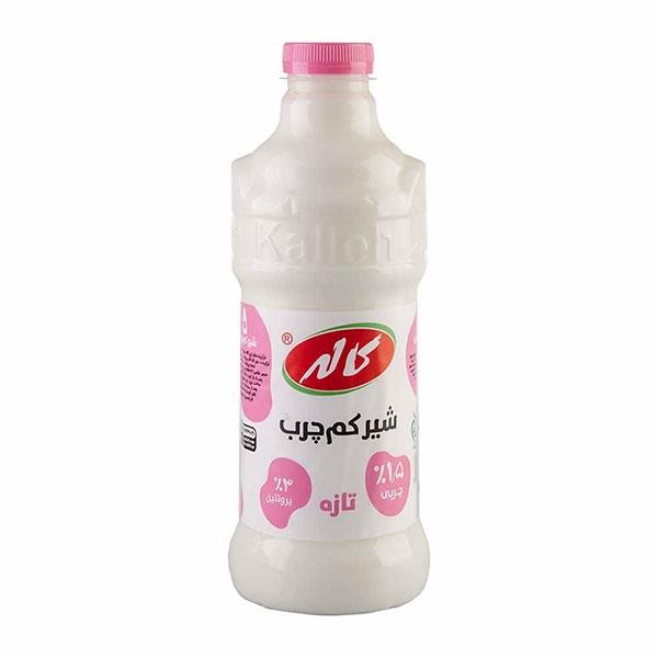 شیر کم چرب فراپاستوریزه لیتری کاله