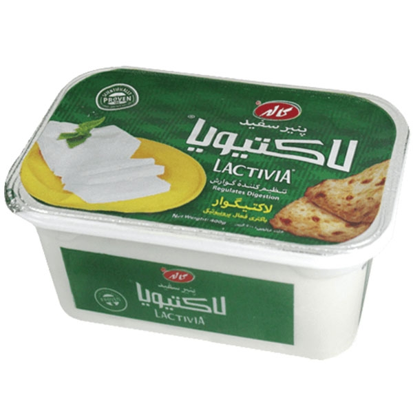 پنیر یو اف لاکتیویا سفید 400 گرم کاله
