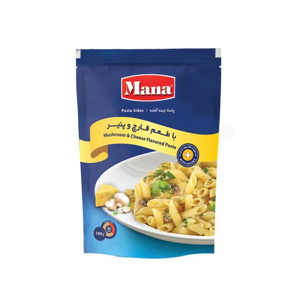 پاستا نیمه آماده قارچ و پنیر 145 گرم مانا