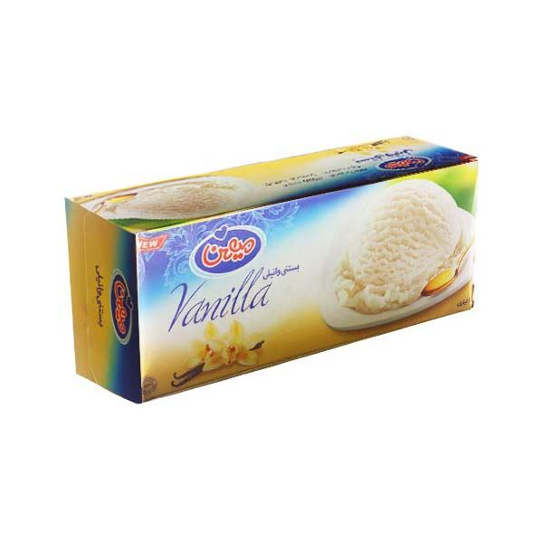 بستنی یک لیتری وانیلی میهن