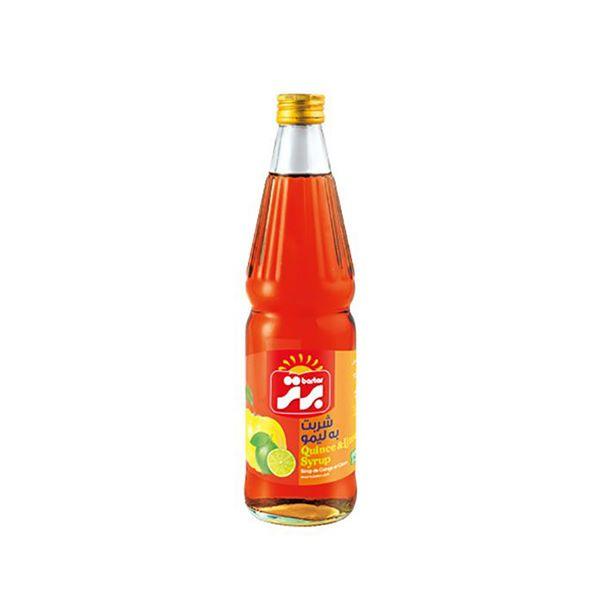 شربت به لیمو 660 گرمی شیشه ای برتر