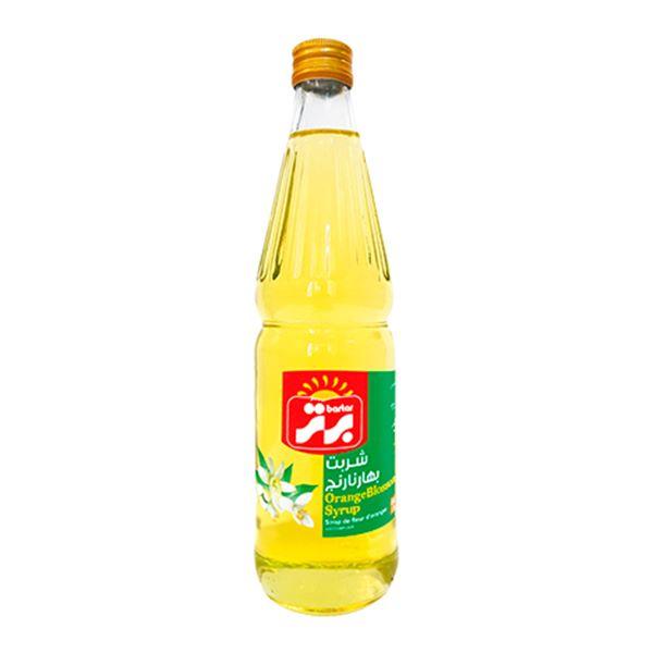 شربت بهار نارنج 660 گرمی شیشه ای برتر