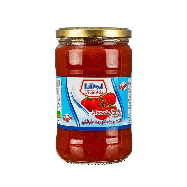 رب گوجه 700 گرمی شیشه اروم آدا