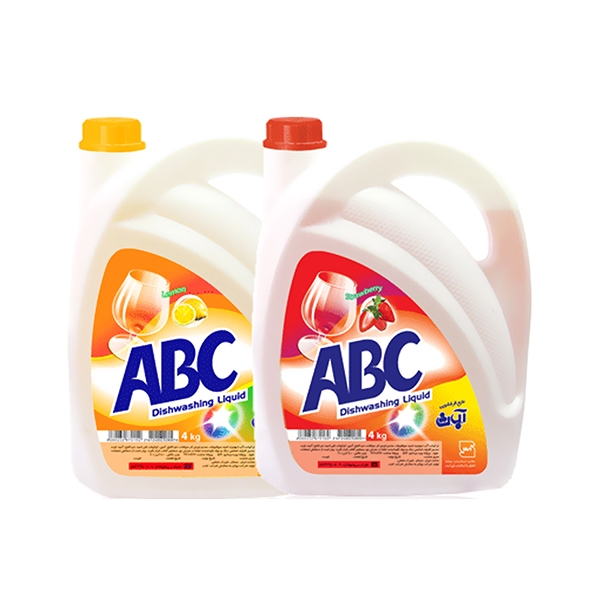 مایع ظرفشویی 4لیتر abc