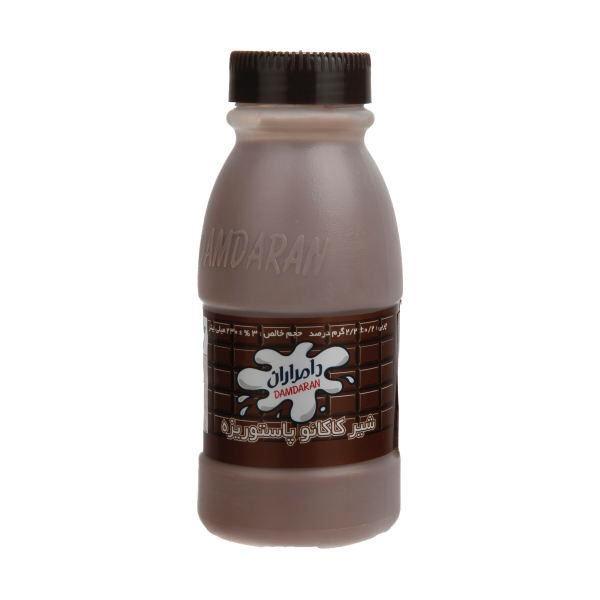 شیر کاکائو بطری 200 سی سی دامداران