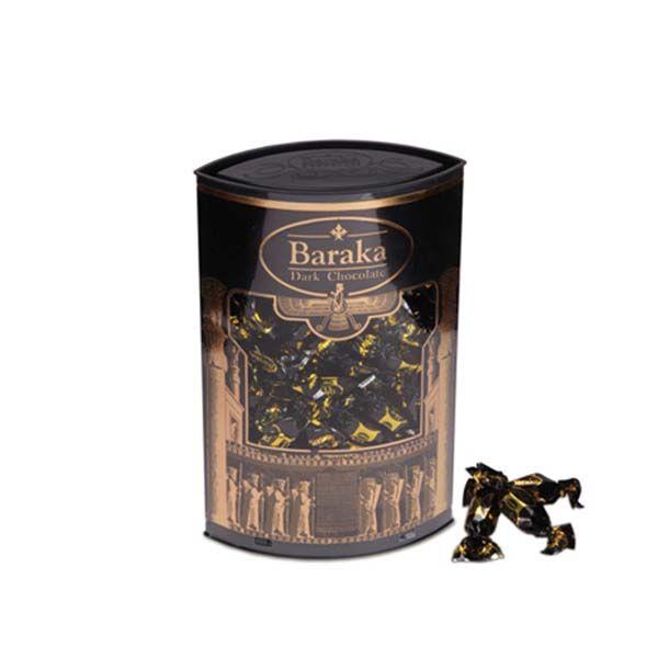 شکلات دو سر پیچ استوانه ای طلایی باراکا