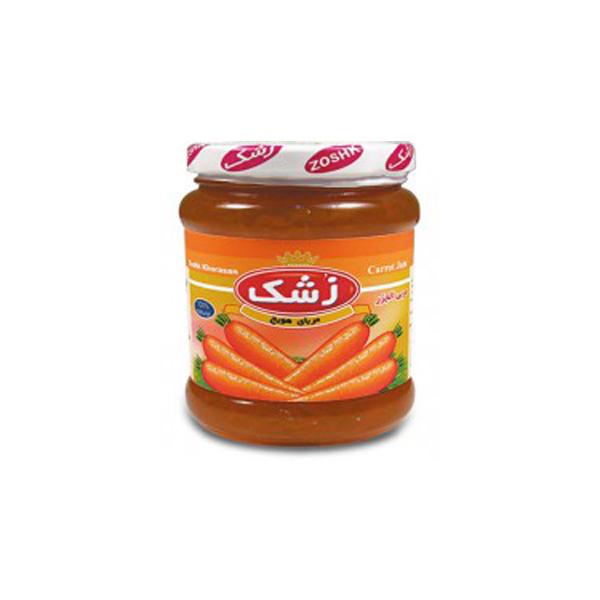 مربای هویج 320 گرمی زشک