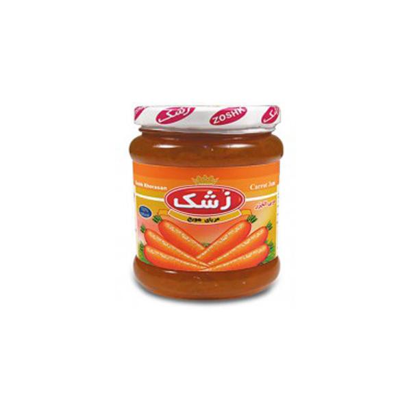 مربای هویج 200 گرم زشک