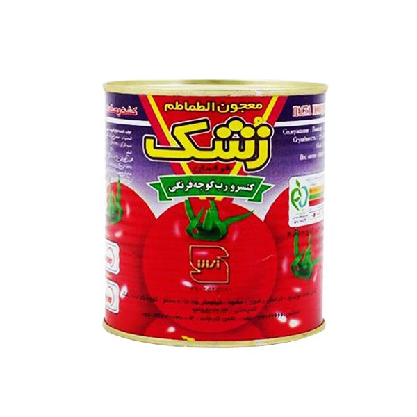 رب گوجه 800 گرمی کلیددار زشک