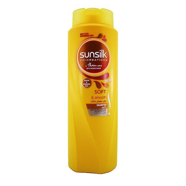 شامپو مو های خشک 600 میل سانسیلک
