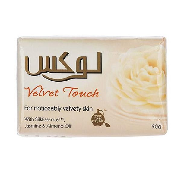صابون لوکس سفید velvet tauch
