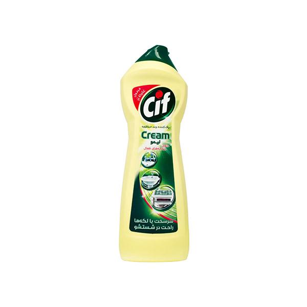 پاک کننده کرمی سیف لیمو750میل
