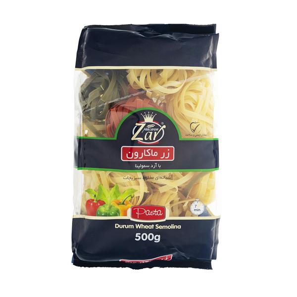فتو چینی آشیانه ای سبزیجات 500 گرمی زر ماکارونی