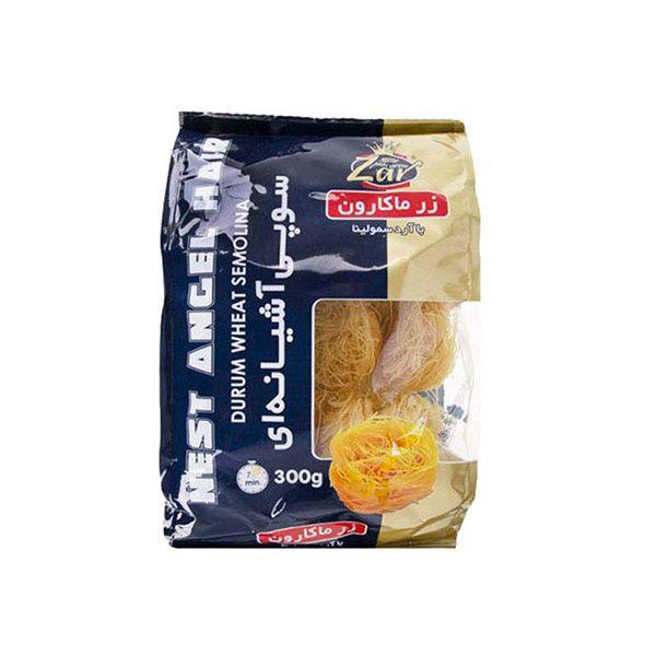 اسپاگتی آشیانه ای سوپی 300 گرم زر