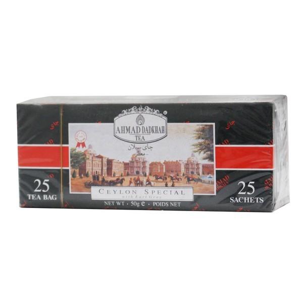 چای کیسه ای 25عددی احمد