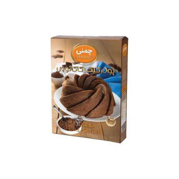 پودر کیک 450 گرم کاکائو چمنی