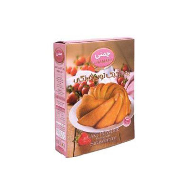 پودر کیک 450 گرم توت فرنگی چمنی
