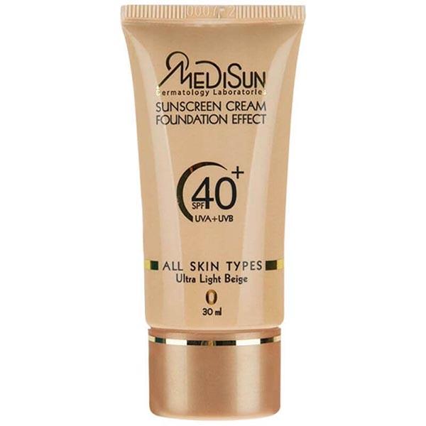 ضد آفتاب بژخیلی روشن SPF40مدیسان