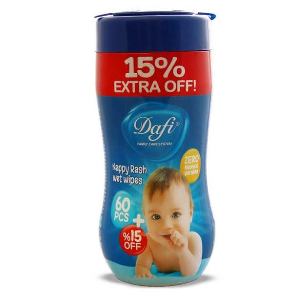 دافی دستمال مرطوب کودک اکسترا