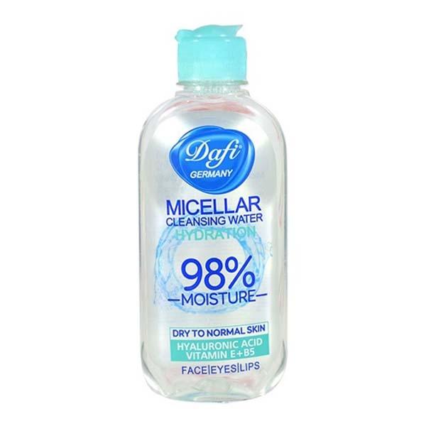 دافی محلول آرایش پاک کن پوست خشک