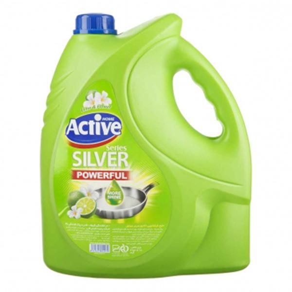 مایع ظرفشویی 3750 گرم سبز اکتیو