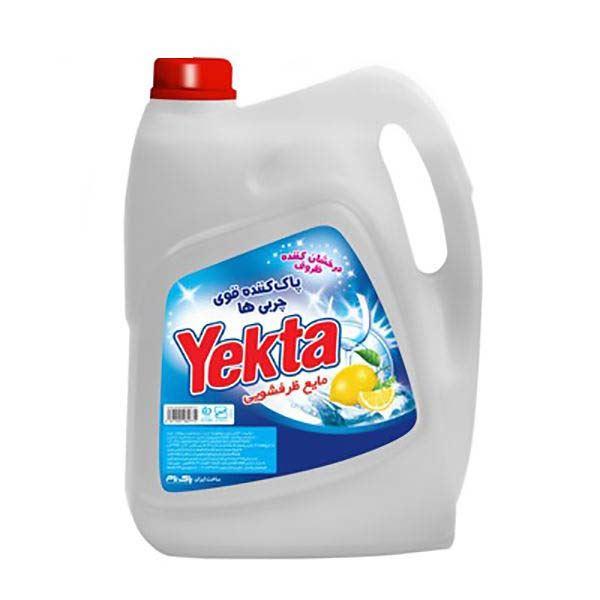 مایع ظرفشویی پلاس 3750 گرمی لیمویی یکتا